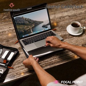 Twelve South Journal CaddySack ガジェット収納 本革製ポーチ 送料無料|focalpoint|07