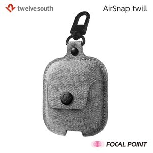 Twelve South AirSnap twill hardcase for AirPods ツイル生地 AirPodsケース 全2種 送料無料|focalpoint|03