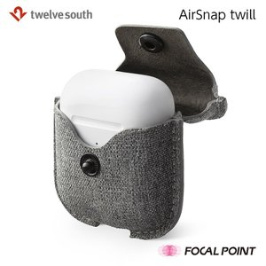 Twelve South AirSnap twill hardcase for AirPods ツイル生地 AirPodsケース 全2種 送料無料|focalpoint|05