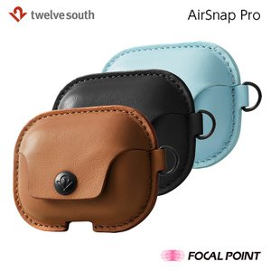 AirPods Proケース Twelve South AirSnap Pro 本革 イヤホンアクセ...