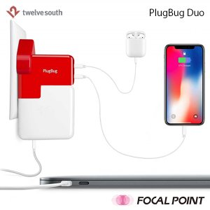 Twelve South PlugBug Duo MacBook iPad 海外用コンセント対応 拡張電源アダプタ|focalpoint|04