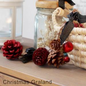 SALE クリスマススガーランド クリスマス Xmas 壁掛け 飾り デコレーション オシャレ 店舗 玄関 お部屋 パーティ fofoca|fofoca