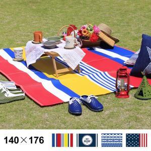 PP レジャーシート マット 140×176cm ラグマット 日本製 おしゃれ 軽量 レジャー アウトドア ピクニック 運動会 遠足 キャンプ 海 プール|fofoca