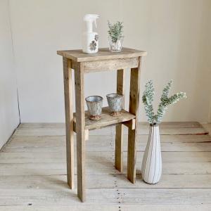 リサイクルウッド コンソールテーブル ミニ コンソール 木製テーブル 飾り棚 キャビネット キッチン...