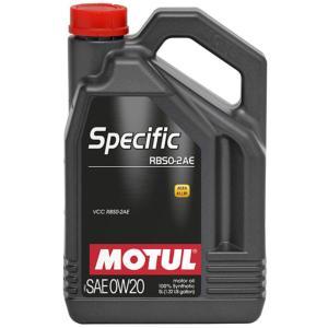 MOTUL(モチュール) SPECIFIC RBS0-2AE 0W20 5L 100%化学合成オイル (正規品)|foglio