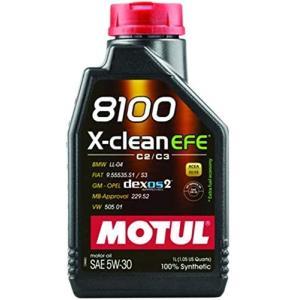 MOTUL(モチュール) 8100 X-clean EFE 5W30 1L 100%化学合成オイル (正規品)|foglio