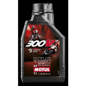 MOTUL(モチュール) 300V2 Factory Line Road / Off Road 10W50 1L バイク用100%化学合成オイル (正規品)|foglio
