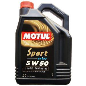MOTUL(モチュール) Sport 5W50 5L 100%化学合成オイル (正規品)|foglio