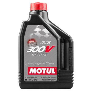 MOTUL(モチュール) 300V SPARK 0W8 2L 100%化学合成オイル (正規品)|foglio