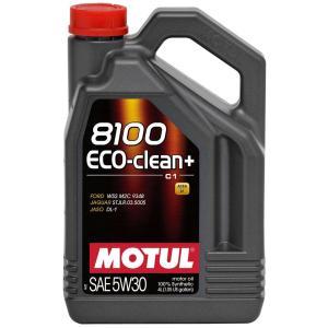 MOTUL(モチュール) 8100 Eco-clean+ 5W30 4L 100%化学合成オイル (正規品)|foglio