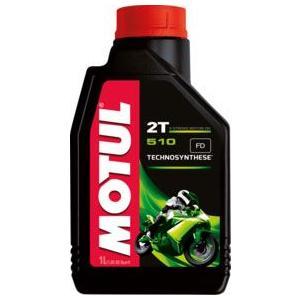 MOTUL(モチュール) 510 2T 1L 2ストロークエンジン,バイク用オイル (正規品)|foglio