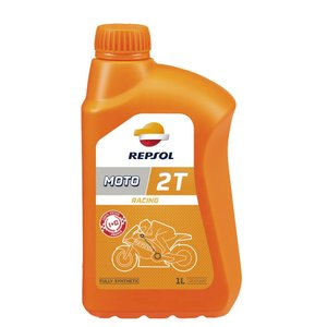 REPSOL(レプソル) MOTO RACING 2T 1L 12本セット 競技車用混合専用2サイクルオイル (正規品)|foglio