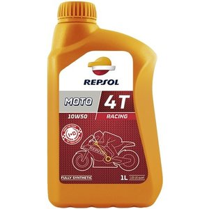 REPSOL(レプソル) MOTO RACING 4T 10W50 1L バイク用100%化学合成オイル (正規品)|foglio
