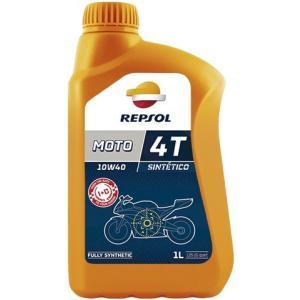 REPSOL(レプソル) MOTO SINTETICO 4T 10W40 1L バイク用100%合成オイル (正規品)|foglio