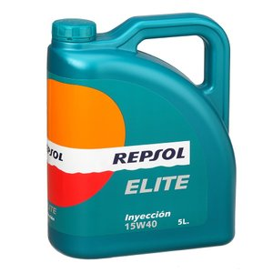REPSOL(レプソル) ELITE Inyeccion 15W40 4L 鉱物油エンジンオイル (正規品)|foglio