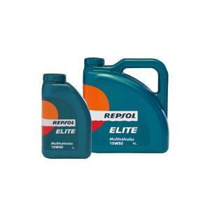 REPSOL(レプソル) ELITE Multivalvulas 15W50 4L 部分合成エンジンオイル (正規品)|foglio