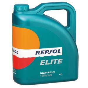 REPSOL(レプソル) ELITE Inyeccion 10W40 4L 部分合成エンジンオイル (正規品)|foglio