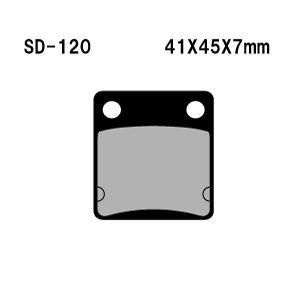 Vesrah(ベスラ) ブレーキパッド SD-120 オーガニック SDレジンパッド|foglio