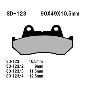 Vesrah(ベスラ) ブレーキパッド SD-123 オーガニック SDレジンパッド|foglio