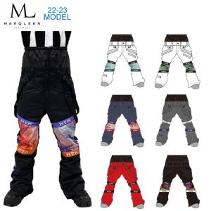 代引料無料 17-18 MARQLEEN スノーボードウェア GALAXXY PANTS [ML7500] ユニセックス マークリーン ギャラクシーパンツ|follows