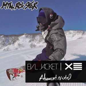 [現品限り特別価格] Mtn. Rock Star マウンテンロックスター スノーボードウェア EVL JACKET エボルジャケット ユニセックス|follows