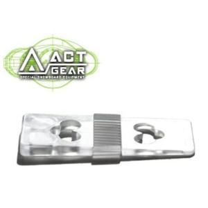 ACT GEAR アクトギア ビンディング 3度カントプレート ポリカ  [PL-8] CLEAR ALPAIN アルペン アルパイン BINDING バインディング SNOWBOARDS スノーボード follows