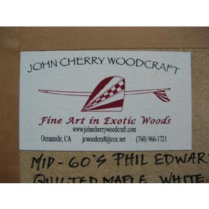 JOHN CHERRY ジョンチェリー WOODCRAFT Early60's hobie template {サーフボード・フィン}|follows|05