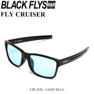 BLACK FLYS ブラックフライ サングラス FLY CRUISER フライクルーザー[S.BLACK/LIGHT BLUE] [BF-9019-0120] JAPAN FIT|follows