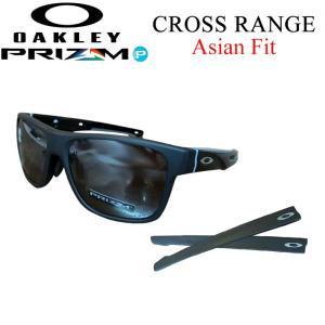 OAKLEY オークリー サングラス CROSS RANGE 9371-0557 クロスレンジ PRIZM AsiaFit アジアンフィット 日本正規品 代引料無料|follows