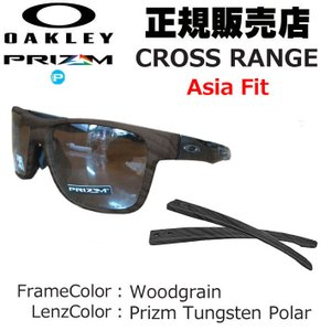 OAKLEY オークリー サングラス CROSS RANGE 9371-0657 クロスレンジ PRIZM AsiaFit アジアンフィット 日本正規品 代引料無料|follows