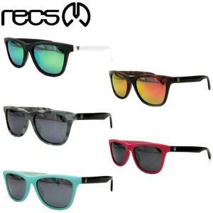 recs レックス GINGA recs-s57 UVカット Mirror Pola Lens(アイウェア・メガネ・偏光ミラーレンズ サングラス)|follows