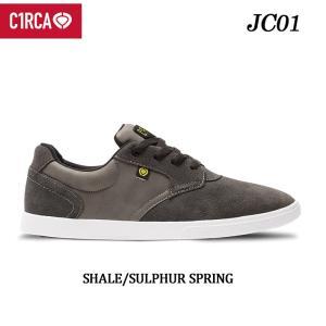 [現品限り特別価格] C1RCA サーカ スケートシューズ JC01 JIMMY CARLIN シグネチャーモデル(SHALE_SULPHUR_SPRING)スケート スニーカー SK8 シューズ follows