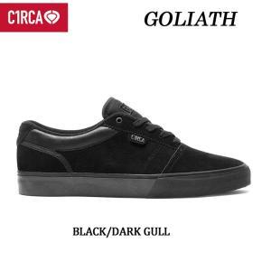 [現品限り特別価格] C1RCA サーカ スケートシューズ GOLIATH DAVID GRAVETTE シグネチャーモデル(BLACK_DARK_GULL)スケート スニーカー SK8 シューズ follows