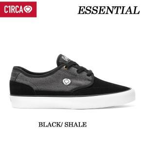 [現品限り特別価格] C1RCA サーカ スケートシューズ ESSENTIAL(BLACK/SHALE)メンズ スニーカー SK8 シューズ follows