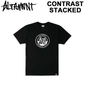 ALTAMONT メンズ Tシャツ 半袖 CONTRAST STACKED アルタモント 2017|follows