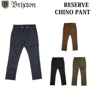 Brixton ブリクストン 2017 FALL メンズ  RESERVE CHINO PANT パンツ チノパン BRIXTON|follows