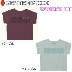 GENTEM STICK ゲンテンスティック 半袖 レディース Tシャツ WOMEN'S T.T TEE|follows