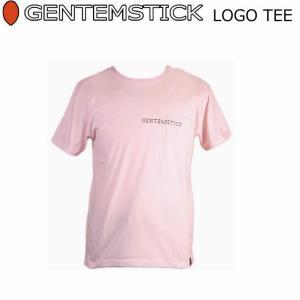 GENTEM STICK ゲンテンスティック 半袖 Tシャツ メンズ LOGO TEE|follows