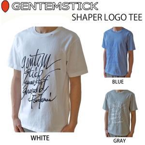Se.×GENTEM STICK ゲンテンスティック 半袖 Tシャツ メンズ SHAPER LOGO TEE|follows