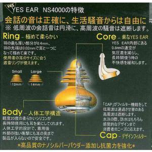サーフィン 耳栓 YES EAR イエスイヤー Nanoテクノロジー技術が生んだ従来にないナノシルバー抗菌効果耳栓 イヤープラグ サーファーズイヤー|follows|03