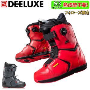 フォローズ限定 18-19 NEWモデル DEELUXE EDGE PF ディーラックス エッジ ノーマルインナー メンズ スノーボード ブーツ フリースタイル 正規品