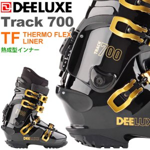 代引料無料 17-18 DEELUXE ディーラックス TRACK700 TF サーモインナー 熱成型 アルペンブーツ ハードブーツ スノーボードブーツ 正規品|follows