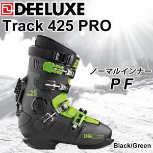 代引料無料 17-18 DEELUXE ディーラックス TRACK425 PRO PF ノーマルインナー アルペンブーツ ハードブーツ スノーボードブーツ 正規品|follows