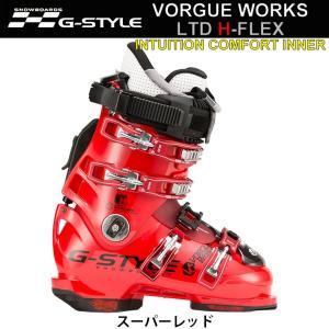 代引料無料 G-STYLE スノーボードブーツ VORGUE WORKS LTD H-FLEX [INTUITION COMFORTインナー 熱成型] ヴォーグ ボーグワークス Gスタイル アルペン ハード|follows