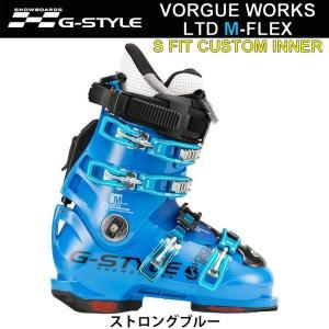 代引料無料 17-18 G-STYLE スノーボードブーツ VORGUE WORKS LTD M-FLEX [S-FIT CUSTOMインナー] Gスタイル アルペンブーツ ハードブーツ|follows
