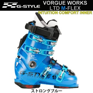 代引料無料 17-18 G-STYLE スノーボードブーツ VORGUE WORKS LTD M-FLEX [INTUITION COMFORTインナー 熱成型] ヴォーグ ボーグワークス Gスタイル|follows