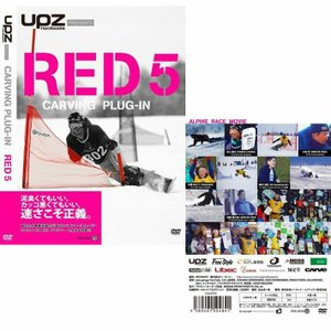 [旧作]  スノーボードDVD CARVING PLUG-IN RED5 [500本数量限定販売] ...