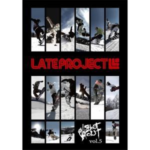19-20 スノーボード DVD LATE PROJECT vol.5 レイトプロジェクト グラトリ ジブ カービング ラントリ キッカー スノーボードムービー