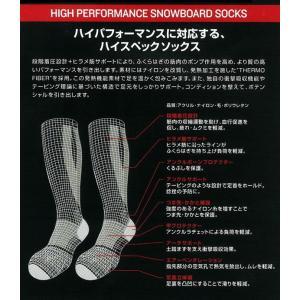 DEELUXE[ディーラックス]THERMO SOCKS EVO [サーモソックス エボ][スノーボード・ソックス・靴下]|follows|02
