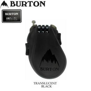 18-19 BURTON バートン スノーボード 盗難防止 3桁ダイヤル式 ケーブルロック